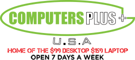 Computers Plus USA  Logo